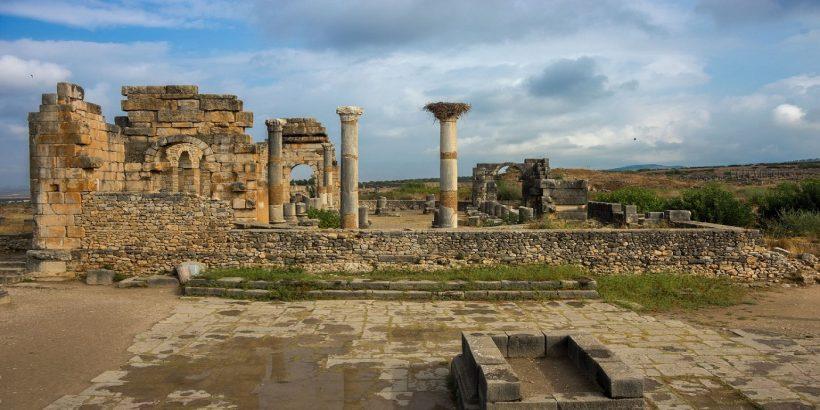 Volubilis Roman capital in Morocco