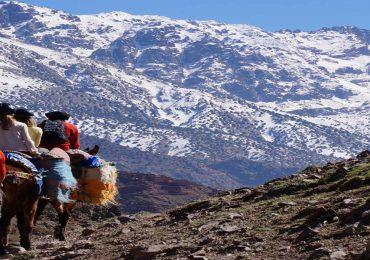 morocco trek toubkal mount